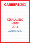 Kerala SSLC Hindi Question Paper 2013
