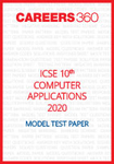 ICSE 10th Computer Applications Specimen Question Paper 2020