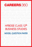 HPBOSE Class 12 Model Question Paper Business Studies