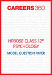 HPBOSE Class 12 Model Question Paper Psychology