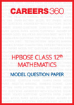 HPBOSE Class 12 Model Question paper Mathematics