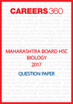 Maharashtra Board HSC Biology Question Paper 2017