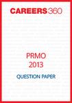PRMO Question Paper 2013
