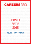 PRMO Question Paper 2015 Set B