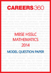 MBSE HSSLC Mathematics Model Question Paper 2014