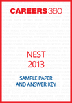 NEST Sample Paper and Answer Key 2013