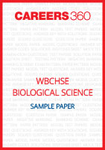 WBCHSE Biological Science Sample Paper