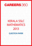 Kerala SSLC Mathematics Question Paper 2013