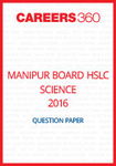 Manipur Board HSLC Science Question Paper 2016