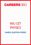 IMU CET Physics Sample Question Papers