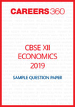 CBSE 12 Economics Sample Question Paper 2019