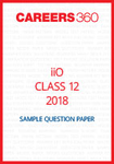 iiO Sample Question Paper Class 12 2018
