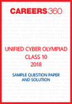 Unified Cyber Olympiad Sample Question Paper and Solution Class 10 2018