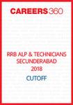 RRB ALP & Technicians Secunderabad 2018 Cutoff