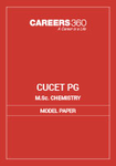 CUCET M.Sc Chemistry Model Question Paper