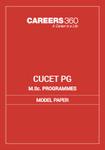 CUCET M.Sc Programmes Model Question Paper