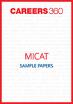 MICAT Sample Papers