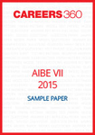 AIBE VII 2015 Sample Paper