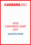 NTSE Karnataka GMAT Question Paper 2017