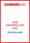 NTSE Karnataka SAT Question Paper 2015