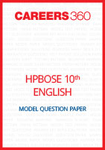 HP Board 10th English Model Question Paper