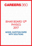 Bihar Board 12th Physics Model Question Paper 2017
