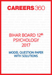 Bihar Board 12th Psychology Model Question Paper 2017