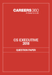 CS Executive Question Papers 2018