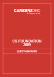 CS Foundation Question Papers 2009