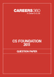 CS Foundation Question Papers 2011