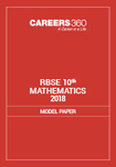 RBSE 10th Mathematics Model Paper 2018