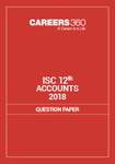ISC 12th Accounts Question Paper