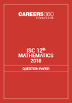 ISC 12th Mathematics Question Paper