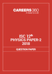 ISC 12th Physics Paper-2 Question Paper