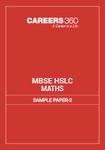 MBSE HSLC Maths Sample Paper 2