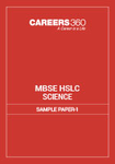 MBSE HSLC Science Sample Paper 1