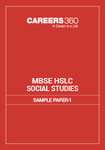 MBSE HSLC Social Science Sample Paper 1