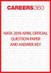 NATA 2019 Official Question Paper & Answer Key