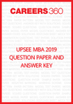 UPSEE MBA 2019 Question Paper and Answer Key