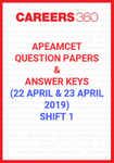 AP EAMCET Question Papers & Answer Keys Shift-1 (April 20 & 21)