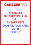 AP EAMCET Question Papers and Answer Keys Shift-1 (April 22 & 23)
