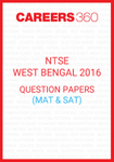 NTSE West Bengal 2016 Question Papers
