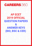 AP ECET 2019 Official Question Papers and Answer Keys (BIO, BSC & CER)