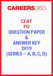 CLAT PG Question Paper and Answer Key 2019