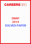 SNAP 2014 Solved Paper