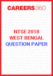 NTSE West Bengal Question Paper 2018
