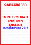 TS Intermediate (2nd year) English Question Paper 2019