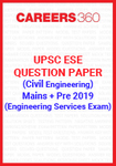 UPSC ESE Question Paper 2019 (Main+Preliminary) Civil Engineering