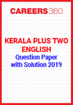 Kerala Plus Two English Question Paper with Solution 2019