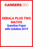 Kerala Plus Two Maths Question Paper with Solution 2019